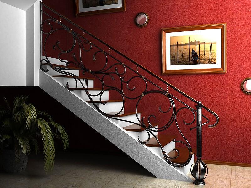 Фото лестниц с поручнями
